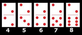 Contoh Seri Domino kartu 2