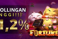 Komisi Rollingan Slots Games 1,2%