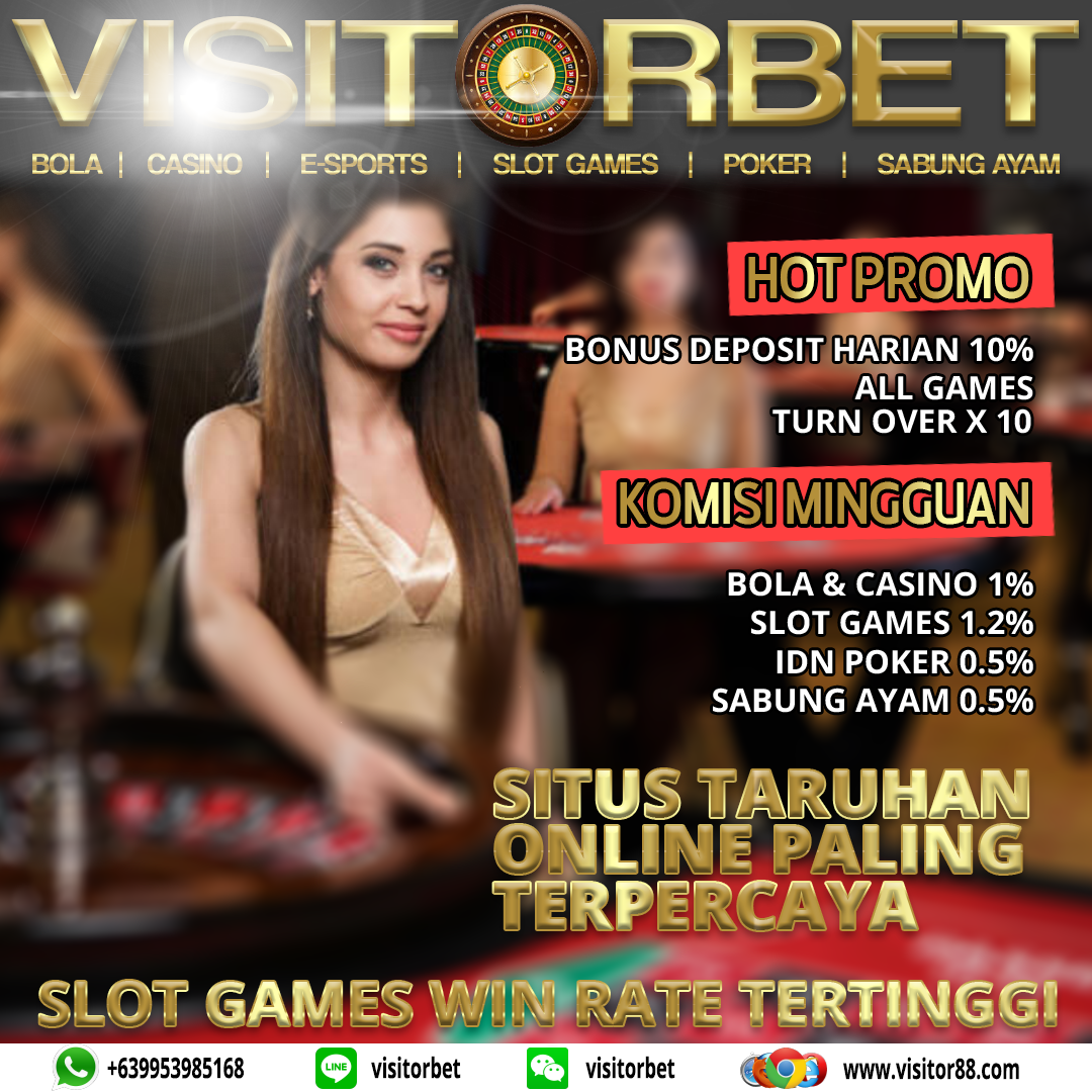 Visitorbet Situs Casino Online Terpercaya, Agen Casino Online Terpercaya