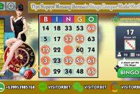 Tips Supaya Menang Bermain Bingo Dengan Modal Kecil